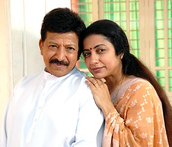 Vishnuvardhan and Suhasini
