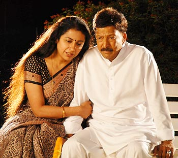 Suhasini and Vishnuvardhan