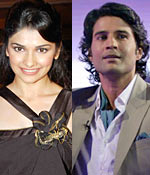 Prachi Desai and Rajeev Khandelwal