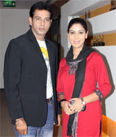Anup Soni and Sakshi Tanwar