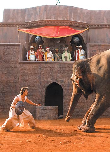 A scene from Jodha Akbar