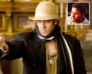 Salman Khan in Veer. Inset: Anil Sharma