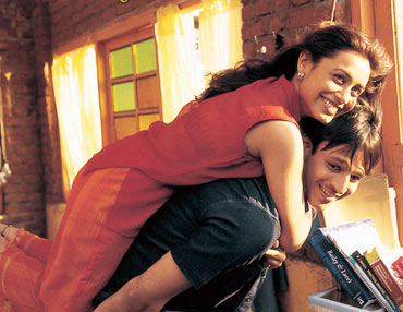 A scene from Saathiya