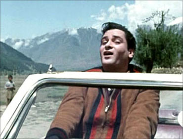 A scene from Junglee