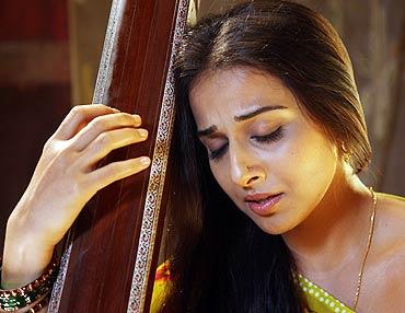 Vidya Balan in a scene from Ishqiya