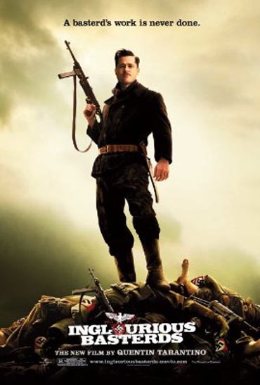 A poster of Inglorious Basterds