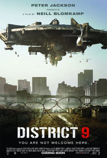 A poster of District 9