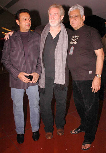 Gulshan Grover, Tom Alter and Om Puri