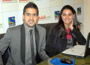 Kavi Shastri and Shruti Seth