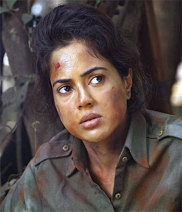 Sameera Reddy in Red Alert: The War Within