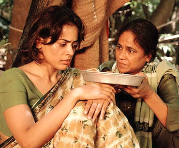 Sameera Reddy and Seema Biswas in Red Alert: The War Within