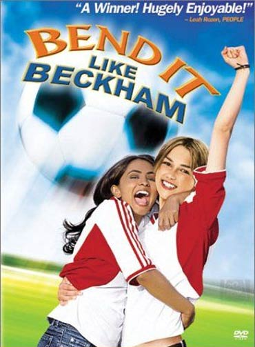 A poster of Bend It Like Beckham