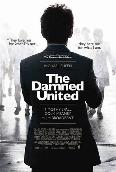 A poster of The Damned United