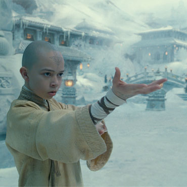 A scene from The Last Airbender