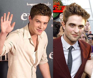 Xavier Samuel and Robert Pattinson