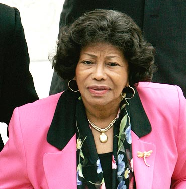 Micheal Jackson's mother Katherine