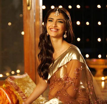 Sonam in the scene from Aisha