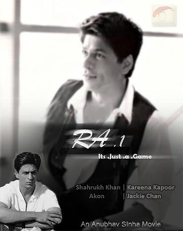 Shah Rukh Khan in RA.1