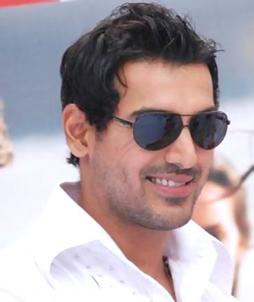 John Abraham in the Hindi remake of Kaakha Kaakha