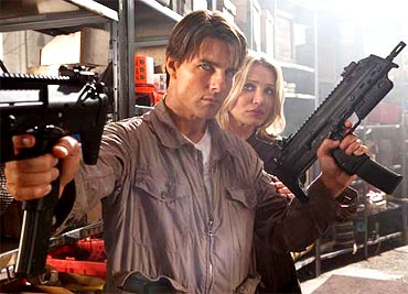 A scene from Knight And Day