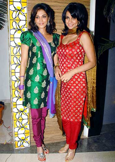 Esha Koppikar and Gul Panag