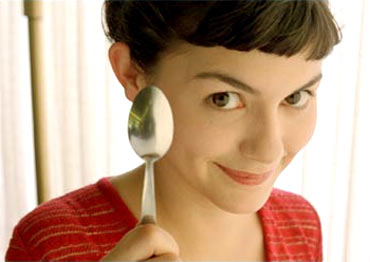 A scene from Amelie