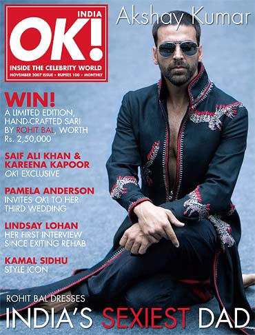 Akshay Kumar on the cover of OK! INDIA