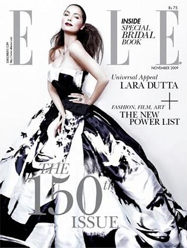 Lara Dutta on the cover of ELLE