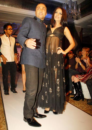 Rahul Bose and Celina Jaitley