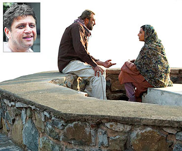 Sanjay Dutt and Bipasha Basu in Lamhaa. Inset: Rahul Dholakia