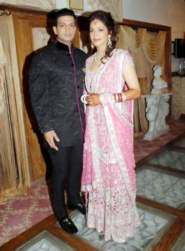 Timmy Narang and Isha Koppikar