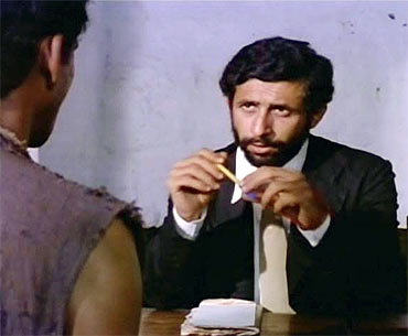 A scene from Aakrosh