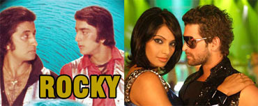 Stills from Rocky and Aa Dekhen Zara