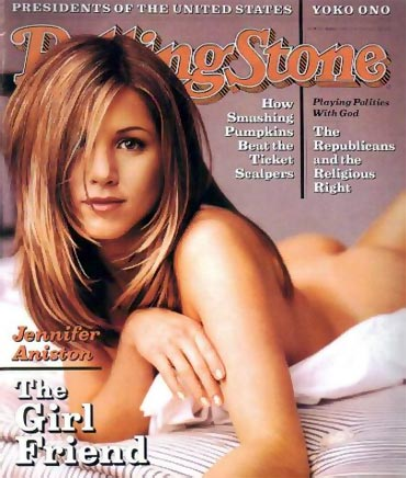 jennifer aniston cover rolling stone. When Jennifer Aniston went