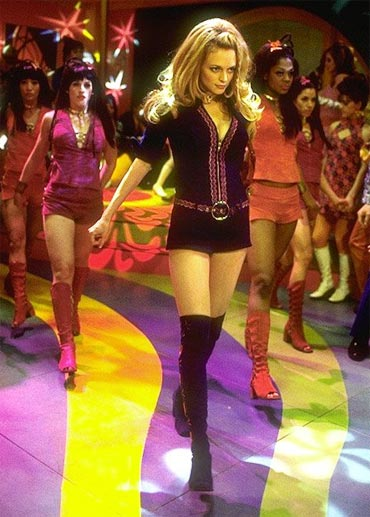 Heather Graham in a scene from Austin Powers: The Spy Who Shagged Me