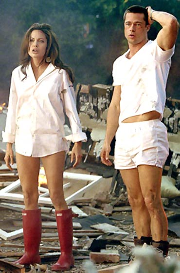 A scene from Mr and Mrs Smith