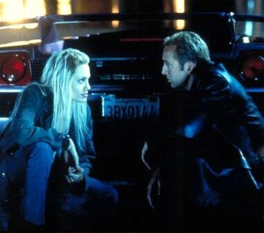 A scene from Gone In 60 Seconds