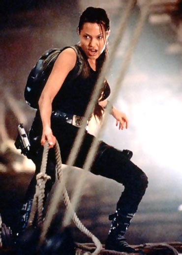 A scene from Lara Croft: Tomb Raider