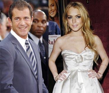 Mel Gibson and Lindsay Lohan