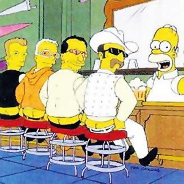 U2 in The Simpsons