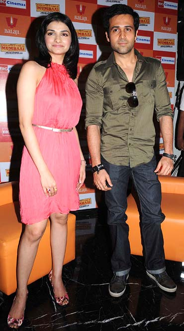 Prachi Desai and Emraan Hashmi