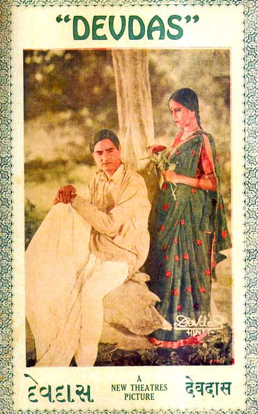 A poster of Devdas