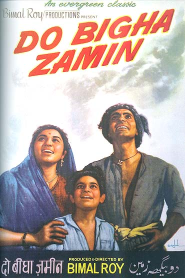 A poster of Do Bigha Zamin