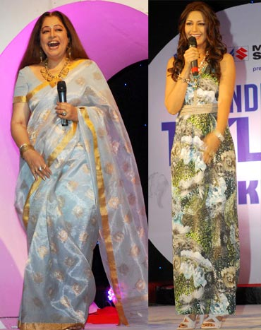Kirron Kher and Sonali Bendre