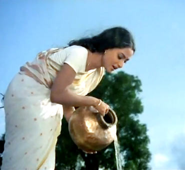 A scene from Abhimaan