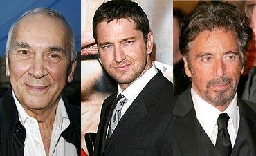Frank Langella, Gerard Butler, Al Pacino