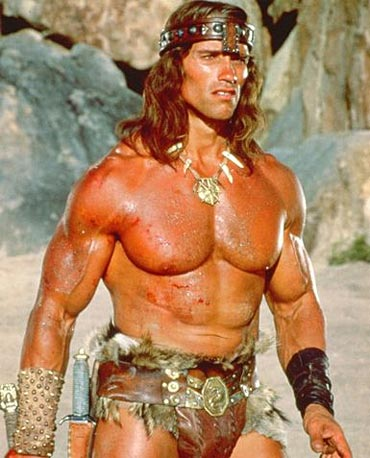 A scene from Conan The Barbarian