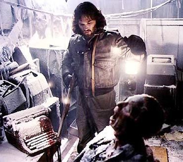A scene from The Thing