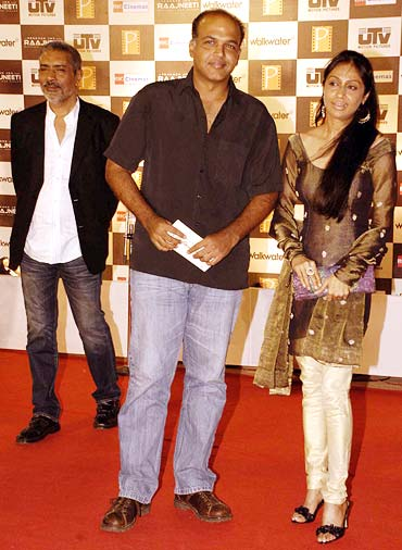 Ashutosh Gowariker and Sunita