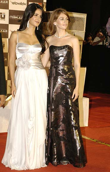 Katrina Kaif and Sarah Thompson